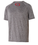 Short sleeve electrify moisture management shirt - Graphite Heather - SKCW22