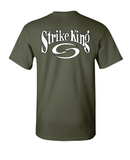 Short Sleeve T-Shirt - Military Heather Green - SK108MG