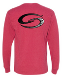 Heather Red Long-Sleeve Shirt - SK118HR