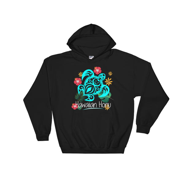 Black See Ya In Maui Hoodie Sweatshirt Hawaiian Honu Turtle