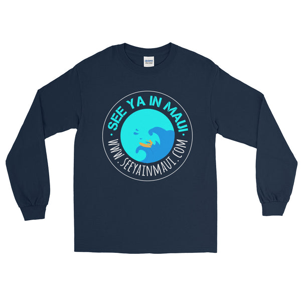See ya in Maui Wave Rider Long Sleeve T-Shirt