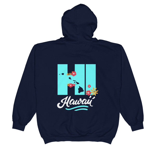Zip Hoodie See Ya In Maui Hawaiian Islands HI - See Ya In Maui