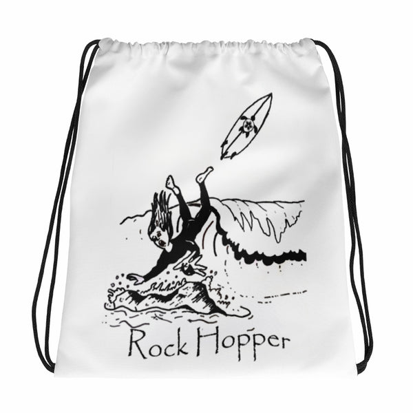 Rock Hopper Drawstring bag
