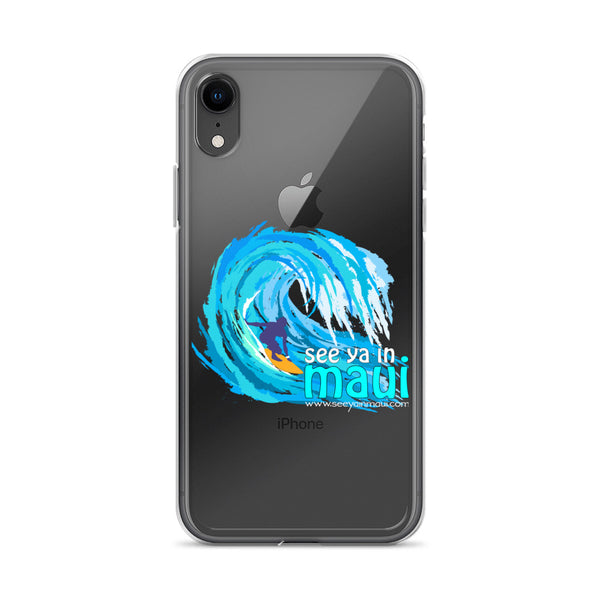 See ya in Maui Big Wave iPhone Case