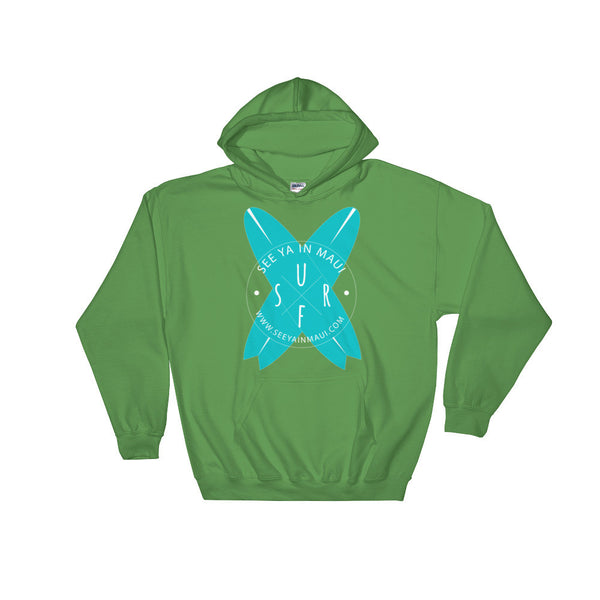Irish Green See Ya In Maui Hoodie Sweatshirt Surfboards