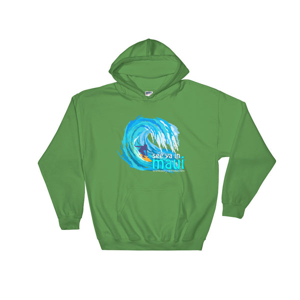 Irish Green See Ya In Maui Hoodie Sweatshirt Big Wave