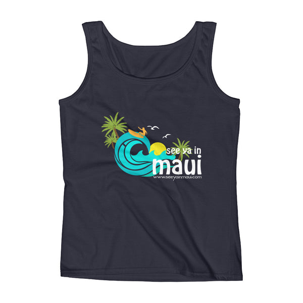 Ladies' See ya in Maui island life Tank