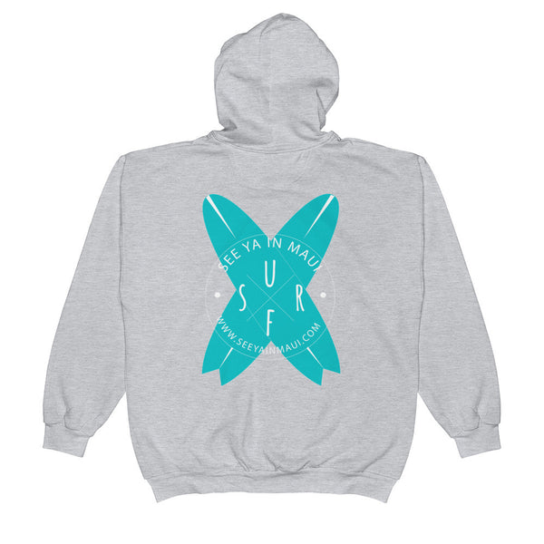 Zip Hoodie See Ya In Maui Surfboards - See Ya In Maui