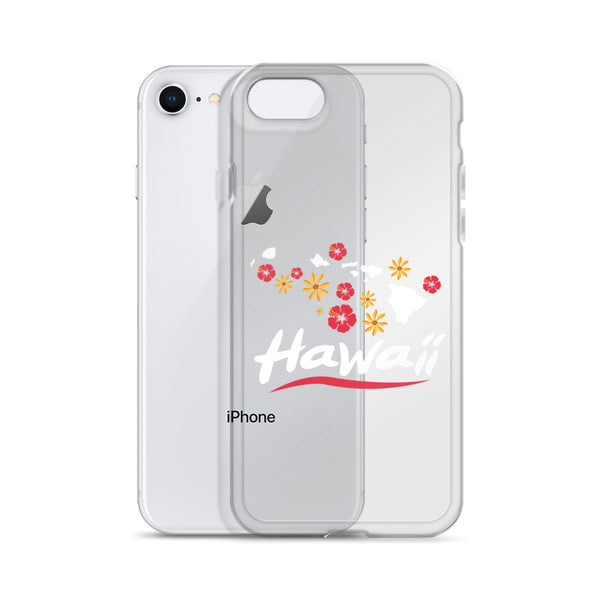 See ya in Maui Hawaii Flowers iPhone Case