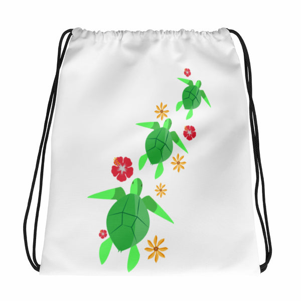 See ya in Maui 3 Honu Drawstring bag