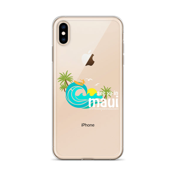 See ya in Maui Surfer iPhone Case