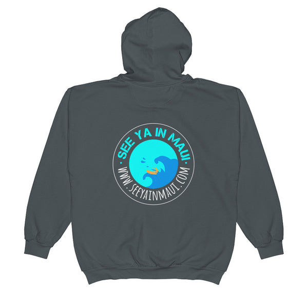 Zip Hoodie See Ya In Maui Surfer - See Ya In Maui
