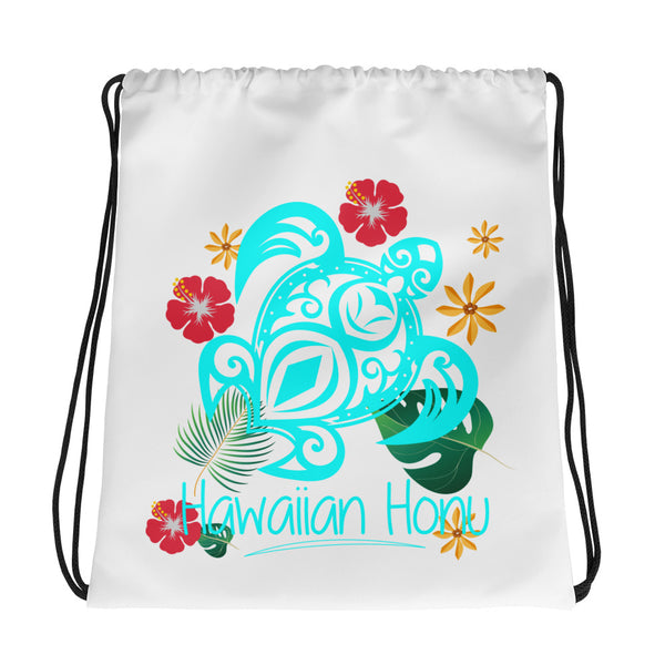 See ya in Maui Hawaiian Honu Drawstring bag
