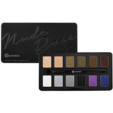 BH Cosmetics - Nude Rose Night Fall 12 Colour Eyeshadow Palette
