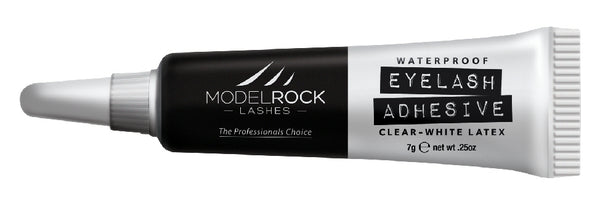 "MODELROCK LASHES - Lash Adhesive 7gm Waterproof White/Clear ""LATEX"""