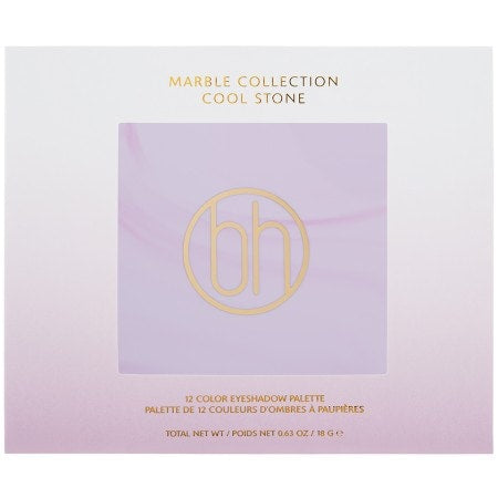 BH Cosmetics - Marble Collection Cool Stone 12 Colour Eyeshadow Palette