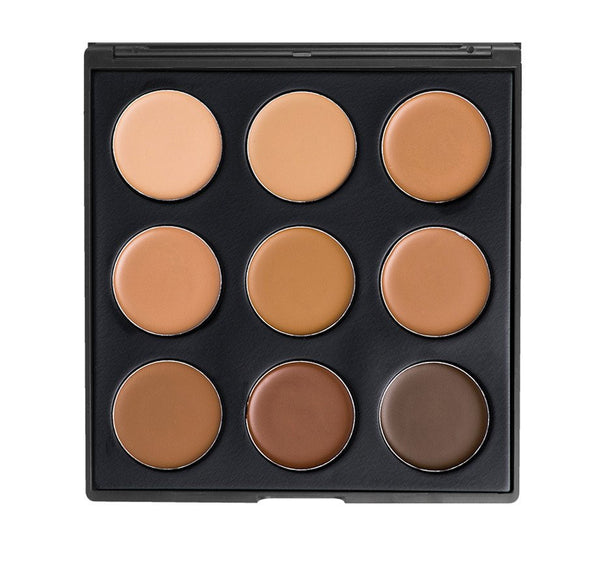Morphe 9FW - Colour Warm Foundation Palette