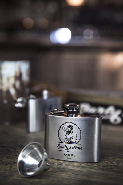 Burly Fellow Beard Oil Flask