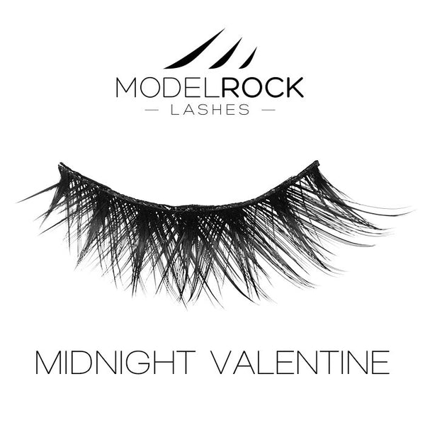 MODELROCK LASHES Midnight Valentine - Double Layered Lashes