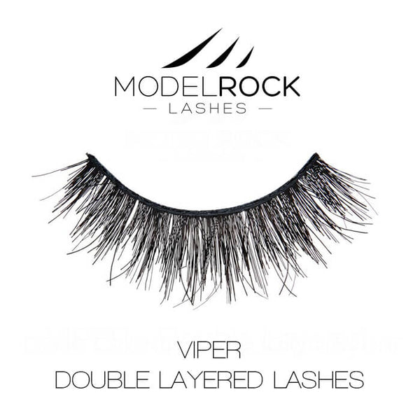 MODELROCK LASHES VIPER - Double Layered Lashes