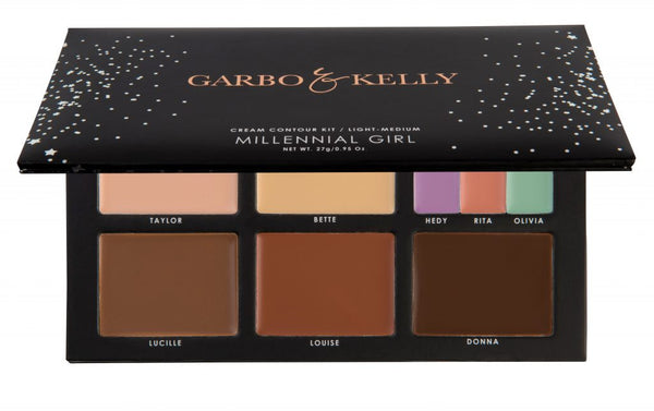 Garbo & Kelly Millennial Girl Cream Contour Kit