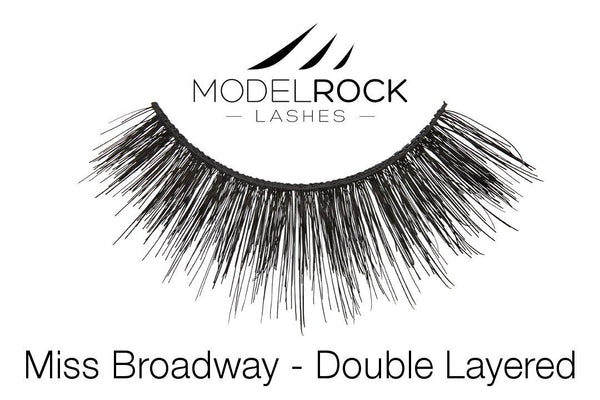 MODELROCK LASHES Miss Broadway - Double Layered Lashes