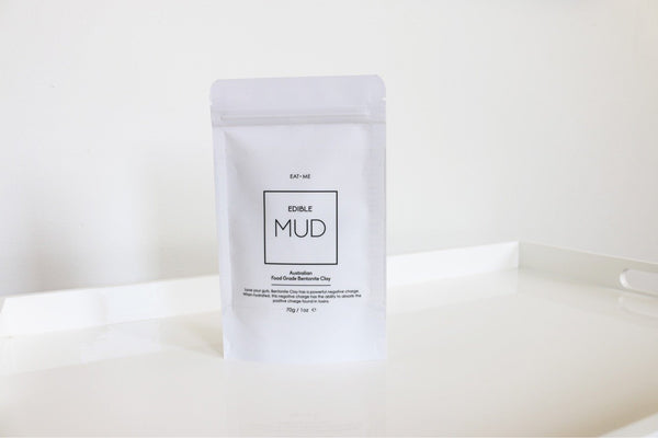 MUD: Edible MUD Food Grade Bentonite Clay