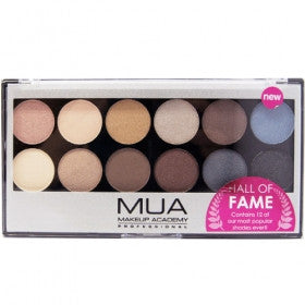 MUA Hall of Fame Palette