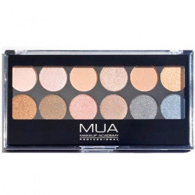 MUA 12 Shade Undressed Palette