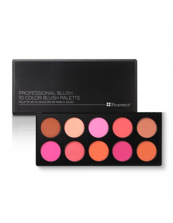 BH Cosmetics Professional Blush - 10 Color Blush Palette