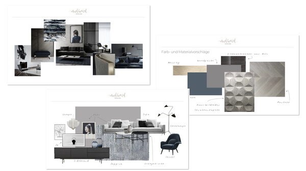 Full Interiors Design Package Moodboard Interiors