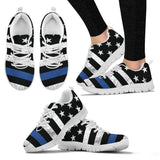 Thin Blue Line Sneakers | Herzoge™