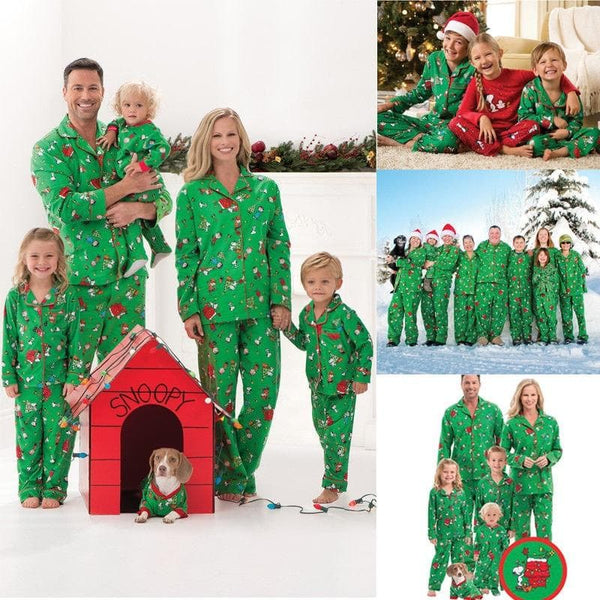 family christmas pajamas snoopy christmas pajamas - Snoopy Christmas Pajamas