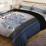 Bible Verse Bedding | Scripture Bedding | Psalm 23:1 Comforter
