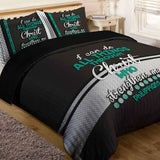 Bible Verse Bedding | Scripture Bedding | Philipians 4:13 Bedding