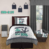 Bible Verse Bedding | Scripture Bedding | Hebrews 6:19 bedding
