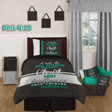 Bible Verse Bedding | Scripture Bedding| Philipians 4:13 bedding