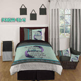 Bible Verse Bedding | Scripture Bedding | Psalm 91:4 bedding