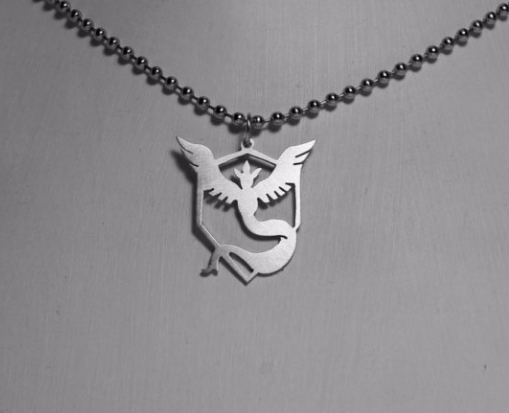 Pokemon Go Team Valor Mystic Instinct Necklace