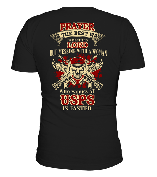 Never Mess with USPS's Woman | USPS Shirt