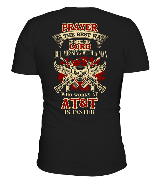 Never Mess with AT&T's Man | AT&T Shirt