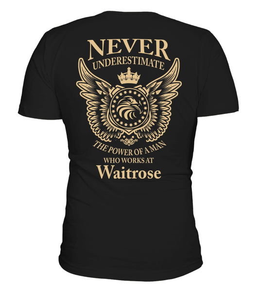 Never underestimate the power of a man who works at Waitrose | Waitrose Shirt