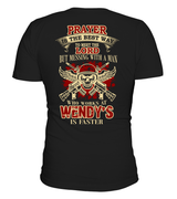 Never Mess with Wendy's Man | Wendy's Shirt
