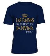 Les reines naissent en Janvier 1987 | January birthday ideas