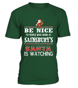 Be nice to people who work at Sainsbury's | Sainsbury's Shirt