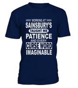Working at Sainsbury's taught me patience | Sainsbury's Shirt