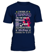 OH CRAP, SHE'S UP | Tesco Shirt