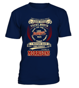 Morrisons-I never said I was perfect-Morrisons man shirt