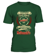 mcdonalds-I never said I was perfect-McDonald's man shirt