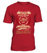 homedepot-I never said I was perfect-Home Depot man shirt